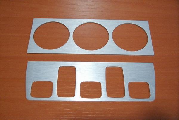 Aluminium Dashboard/console afwerking