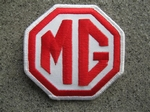 MG Badge  (Rood/Wit)